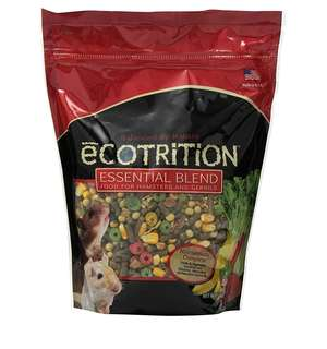 8 in 1 Ecotrition Essential Blend for Hamsters and Gerbils, 2 Pound, Hamster food