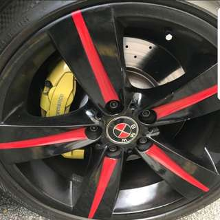 BMW 335 rims with tyres