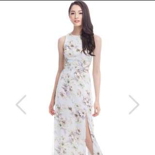 The Closet Lover Willow Floral Maxi Dress