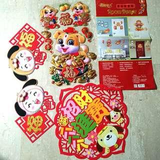 Doggy CNY Decorations