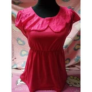 Fuchsia Pink Blouse