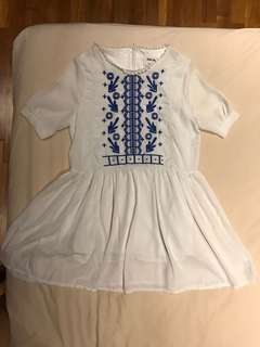 Babydoll Embroidery dress