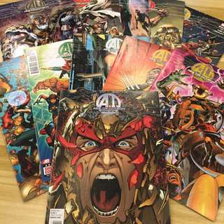 Marvel Age of Ultron #1-10, #10 AI