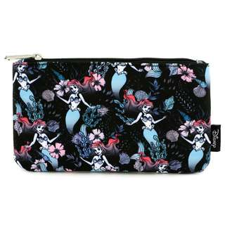 Loungefly x Ariel Floral Coin / Cosmetic Bag
