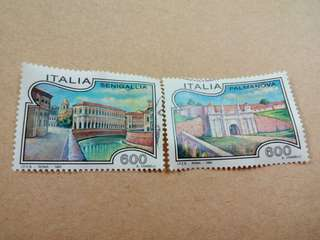 Italy Stamps 2V Used