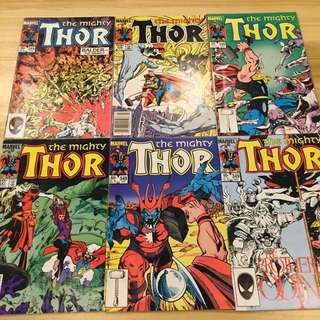 Marvel The Mighty Thor #344-349