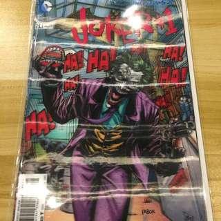 DC Batman #23.1 Joker Lenticular
