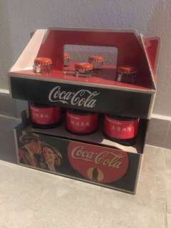 Coca-Cola Collectables - Share a coke 6s glass bottle pack