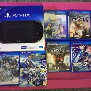 Used PSvita bundle (Pristinr condition)