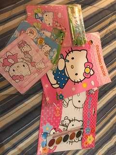 Hello Kitty activity set