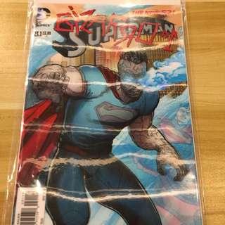 DC Superman #23.1 Bizzaro Lenticular