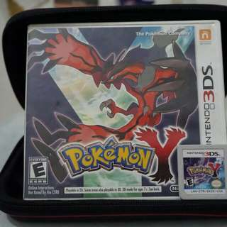 Pokemon Y for 3DS / 2DS
