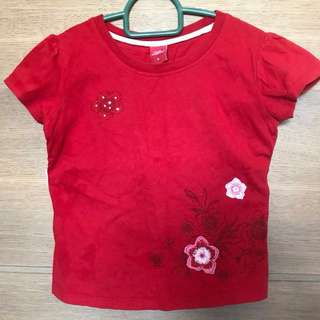 Hush Puppies red tee