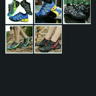 Cross country and hiking shoe