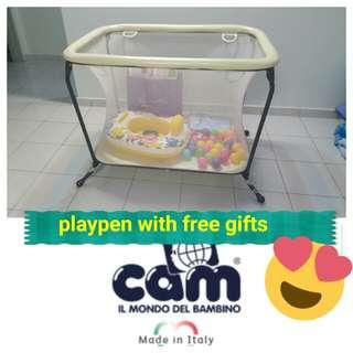 Baby Playpen Bed - COD