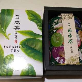 💯% 全新 🇯🇵 伊藤園和風花紋罐綠茶