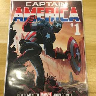 Marvel Captain America #1