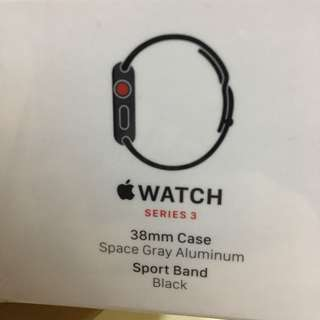 Apple watch series 3 38mm cellular版