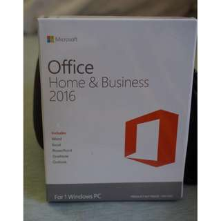 Microsoft Office 2016 1 user lifetime license