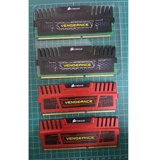 DDR3 ram 16GB - Corsair Vengeance LP 4GB (4x4GB) DDR3 1600 MHZ (PC3 12800) Desktop Memory 1.5V (VERY FRESH)