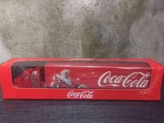 Coca Cola Xmas deco mini truck