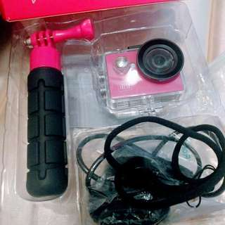 Kitvision Fresh Action Travel Camera Pink粉紅運動相機