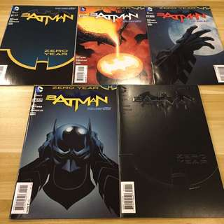 DC Batman #21-25 Zero Year