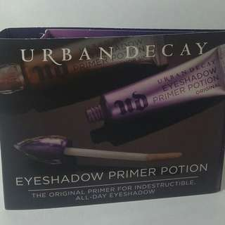 Urban Decay Eyeshadow Primer Potion original sample travel size 2ml NEW + AUTH
