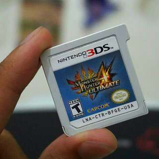 Monster Hunter 4 Ultimate (Cartridge only) for 3DS / 2DS