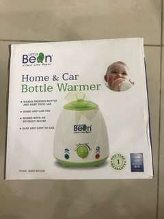 Bottle warmer & new washable nappies