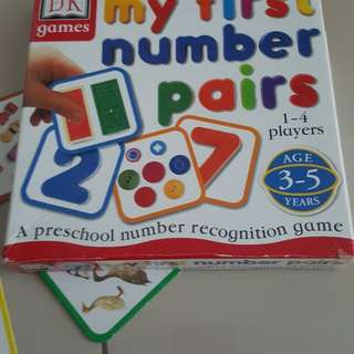 Number and Picture Pair