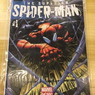 Marvel Superior Spider-Man #1 Second Print