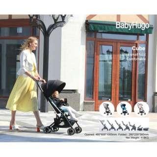 Stroller Baby Hugo Cube Kreta Kereta Dorong Anak Bayi Bisa Di Lipat