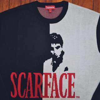 SUPREME x Scarface sweater size Large
