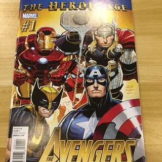 Marvel The Heroic Age The Avengers #1-2