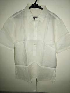 EXCLUSIVE's Short Sleeve Barong