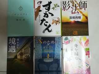 Japanese novel books