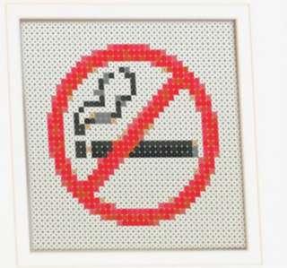 Hama beads design no smoking