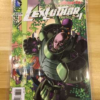 DC Action Comics #23.3 Lex Luthor