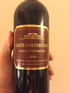 CHATEAU DE TABUTEAU LUSSAC SAINT-EMILION 2014 紅酒 red wine