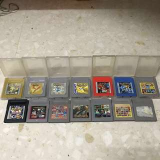 Gameboy Cartridges Pokémon all version (Pre-loved)