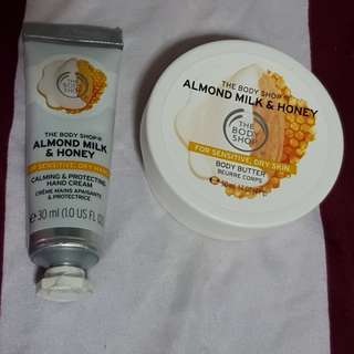Almond Milk & Honey - Body Butter/ Hand Cream