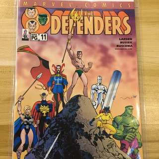 Marvel The Defenders #11