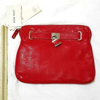Nine West- Red Pouch
