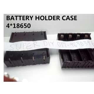 4 Battery Case Hodlder 18650 4 bateri kotak 18650
