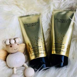 Victoria's Secret Angel Gold Fragrance Body Wash & Body Lotion S