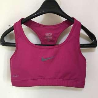 🚚 Nike Pro 運動內衣 (M號)