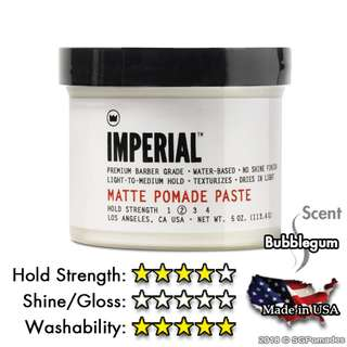 (Free mail) Imperial Barber Matte Pomade 113ml)