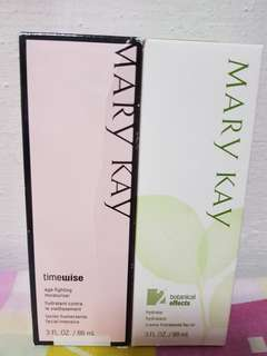 Mary Kay Timewise Age-fighting Moisturizer C/O free Botanical Hydrate 2