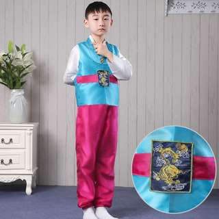 Joseon 2018 - The Formal Cheongsam for boys
